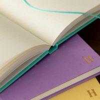 サムネイル:表紙と同色のしおり付き